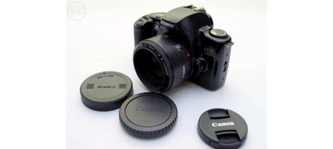Canon 50 Mark II. 1.8 + body Canon 500
