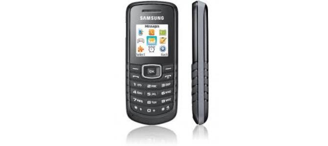 Vand telefon Samsung e1080w.