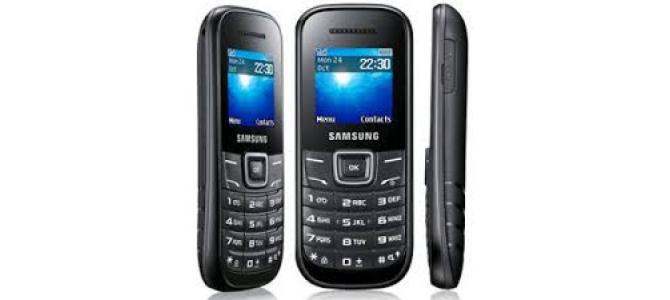 Vand telefon Samsung e1200i.