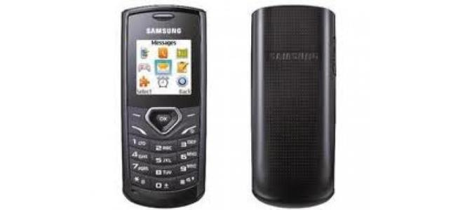 Vand telefon Samsung e1170i.