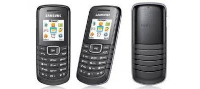 Vand telefon Samsung e1081.