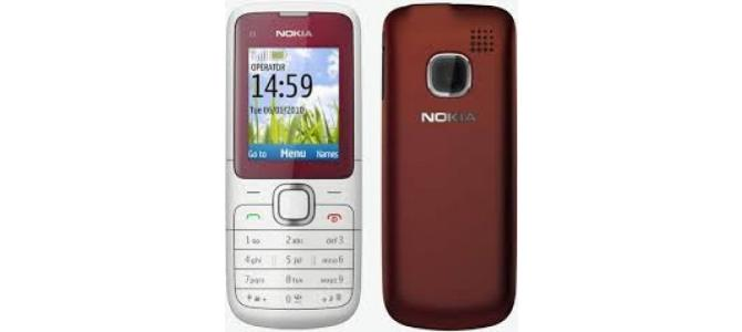 Vand telefon Nokia C1.