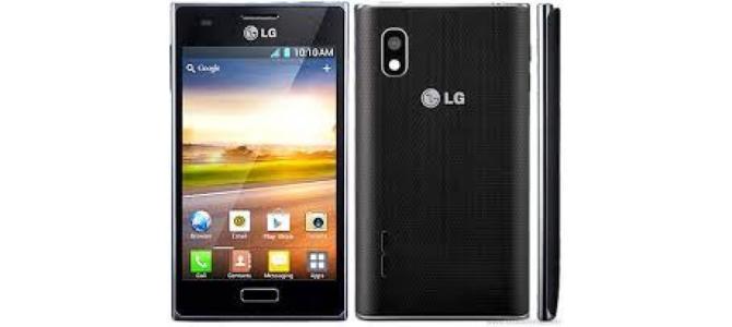 Vand telefon Lg E610.