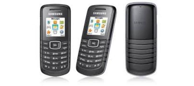 Vand telefon Samsung e1081t.