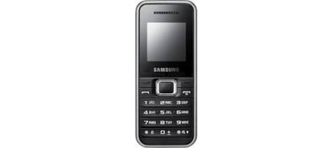 Vand telefon Samsung e1080i.