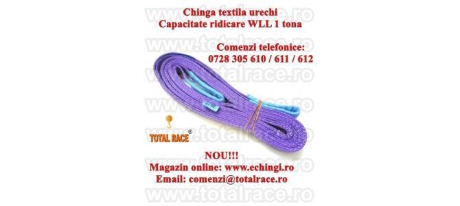 Chingi ridicare textile gase 1 tona 5 metri