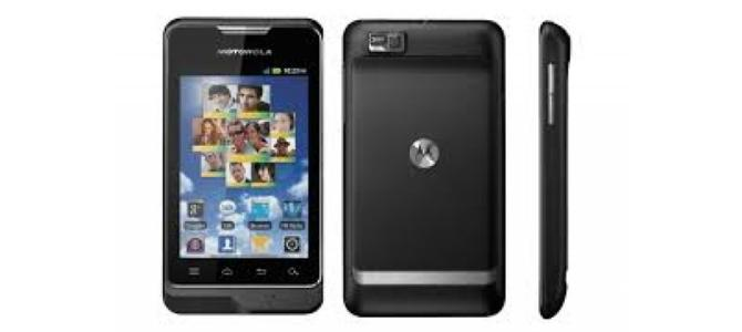 Vand telefon Motorola  Motosmart.