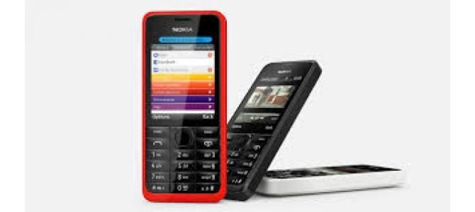 Vand telefon Nokia 301.
