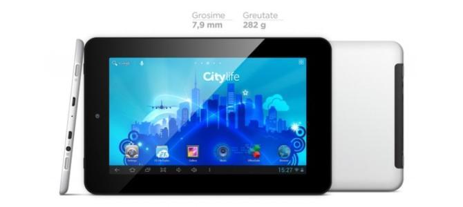 Vand tableta CITY LIFE.