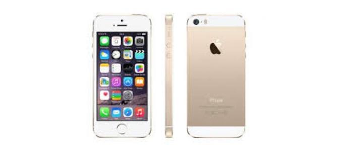 Vand telefon Iphone 5s.