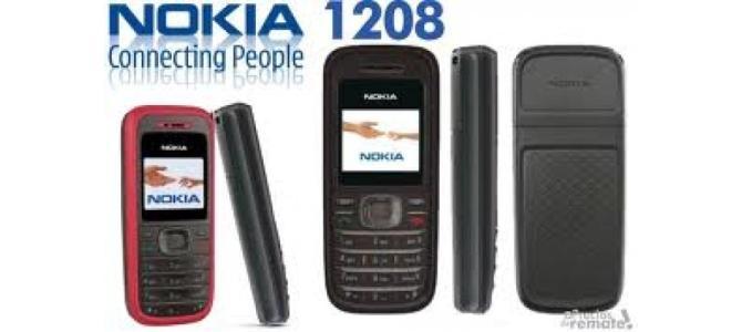 Vand telefon Nokia 1208.