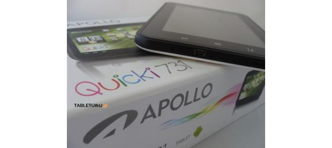 Vand tableta APOLLO QUICKI 731noua la cutie..