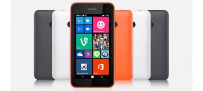 Vand tekefon Nokia 530.