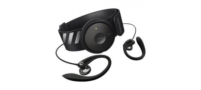 MP3 player Philips FitDot SA5DOT02KNS/12, 2GB, Negru