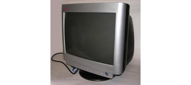 Monitor Compa Q - 17 - Functional