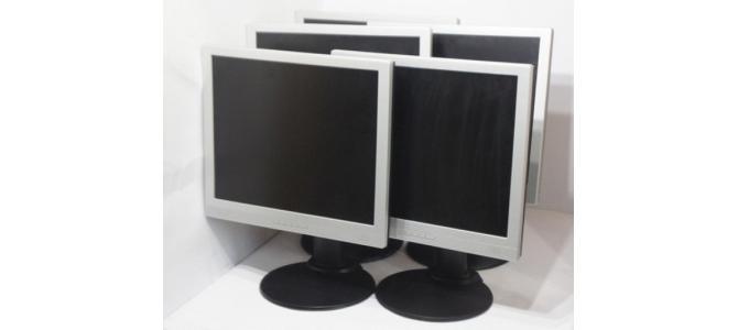 """Lot de 5 Monitoare LCD 19"""" Fujitsu Siemens Scenicview A19-2A Black PRET: 750 RON"""