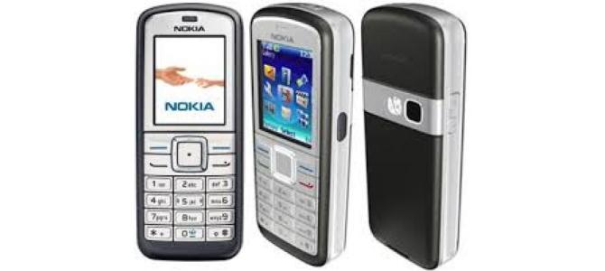 Vand telefon Nokia 6070.