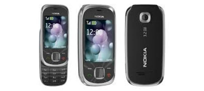Vand telefon Nokia 7230.