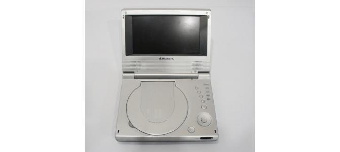 DVD Player Portabil 7 inch Majestic DVX300 cu baterie, incarcator PRET: 255 LEI