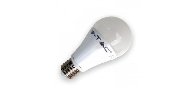 Bec LED 12W E27 Alb Cald Termoplastic