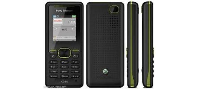Vand telefon Sony Ericsson k330.