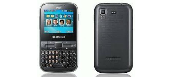 Vand telefon Samsung E3222.