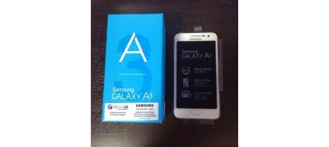 SAMSUNG Galaxy A3, cel cu 1.5GB RAM! NOI SIGILATE, LIBERE DE RETEA 990 Ron