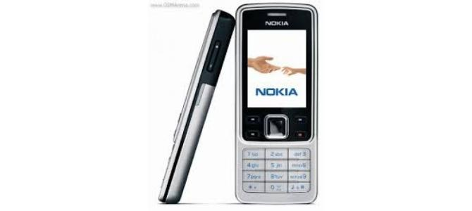 Vand telefon Nokia 6300.