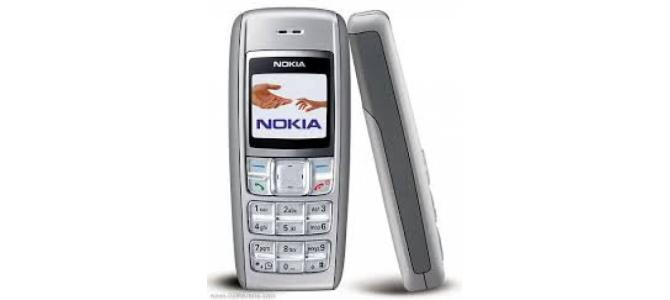 Vand telefon Nokia 1600.