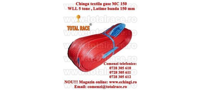 Chinga textila ridicare urechi 150 mm 4 metri