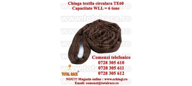 Chinga ridicare circulara 6 tone 3 metri, productie UTX Olanda