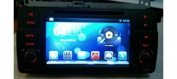 Sistem GPS BMW E46 / M3 (1998-2006) cu Android 4.2