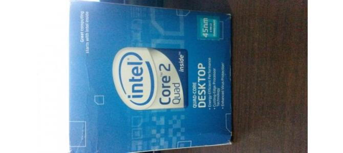 Procesor Intel Core 2 Quad Q8300 + cooler Intel