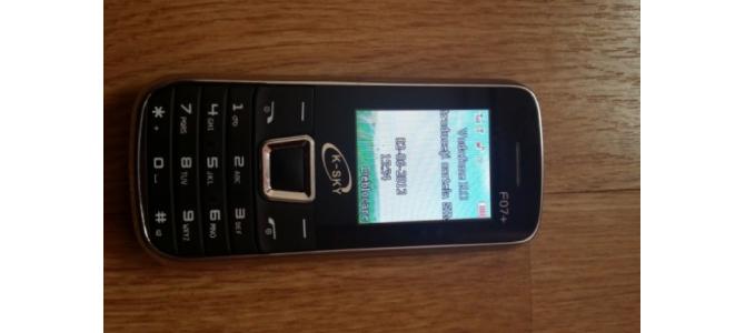 Vand Telefon K-SKY F07+ dual sim