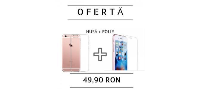 * OFERTA *  -husa+folie sticla-  Samsung GALAXY J5 2015, J3,J5,J7 2016, A3,A5 2015, A3,A5,A7 2016, iPhone 5/6/7
