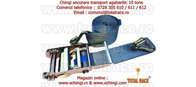 Chinga ancorare transport marfa 10 tone latime banda 100 mm