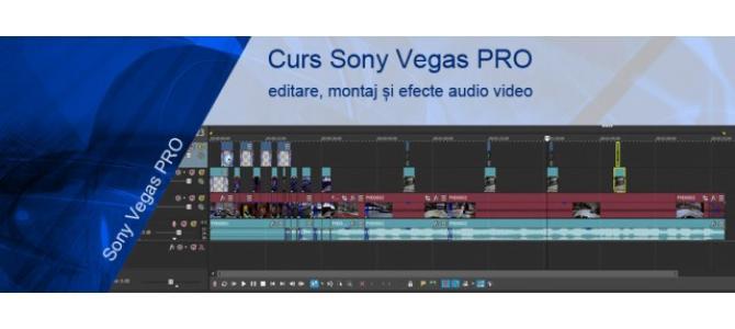 Curs Sony Vegas