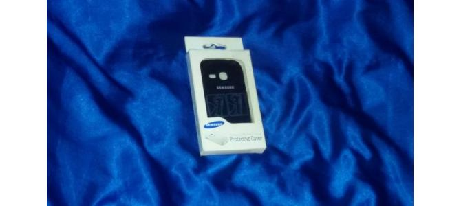 vand husa Samsung Galaxy YOUNG Protective Cover de culoare neagra