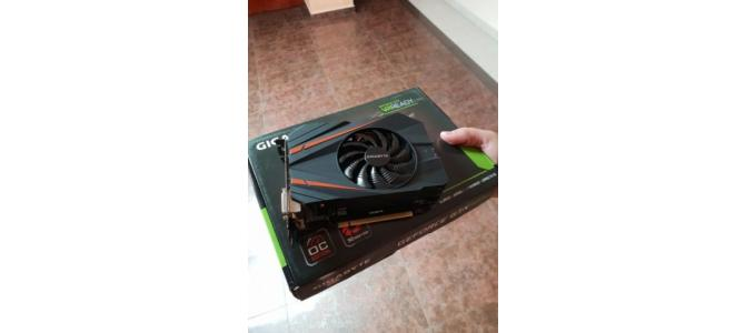 Geforce Gigabyte 1070 GTX mini OC