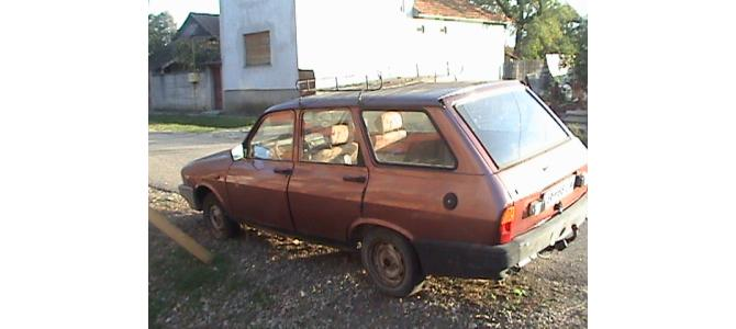Devanzare2  Dacia break Visiniu si Cream