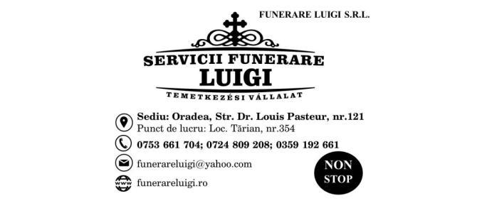Servicii Funerare Luigi Oradea angajeaza