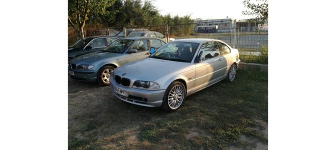 dezmembrez BMW E46 coupe 2002