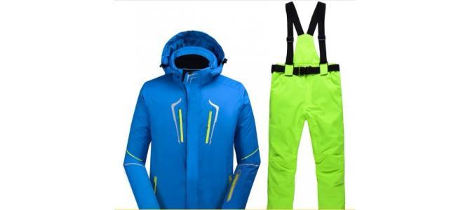 Vând costum de ski, nou