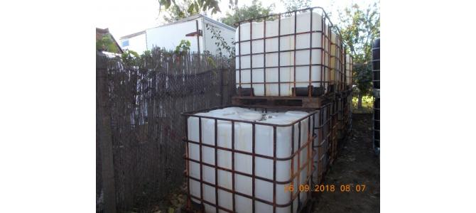 IBC 1000 litri container cub rezervor bazin de apa, 195 lei