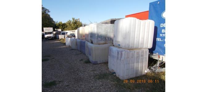 IBC 1000 litri container cub rezervor bazin de apa, 190 lei