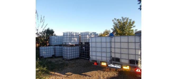 IBC 1000 litri container cub rezervor bazin de apa, 240 lei