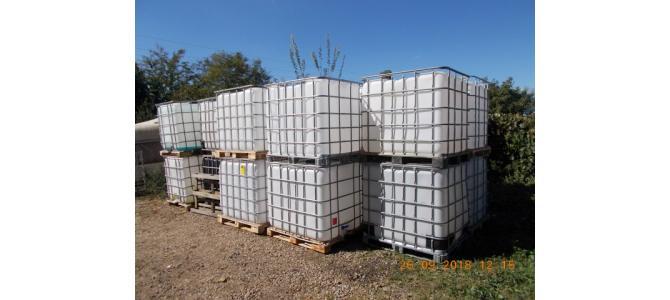 IBC 1000 litri container cub rezervor bazin de apa, 290 lei