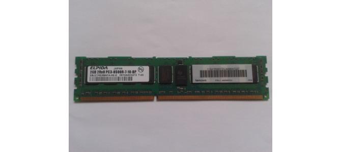 Vand Memorie PC Ram Elpida EBJ21RE8BAFA-AE-E 2Gb DDR3 1066Mhz Pret 35 Lei