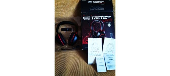 Casti Gaming Creative - Sound Blaster Tactic3D Rage Wireless