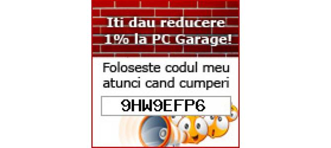VOUCHER CUPON DE REDUCERE PC GARAGE 2020: 9HW9EFP6